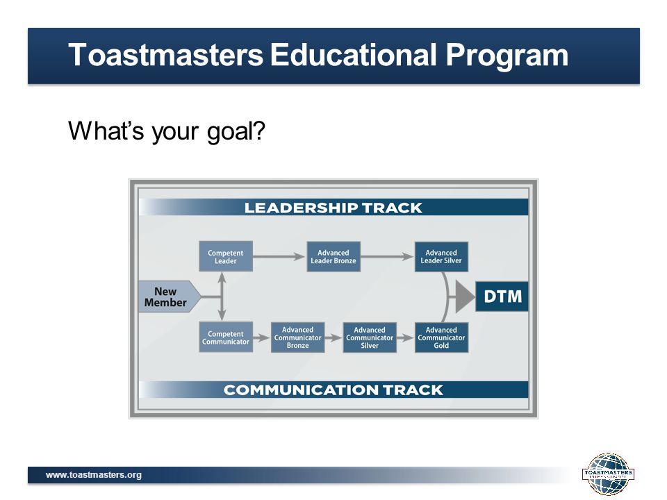 Toastmasters Educational Program