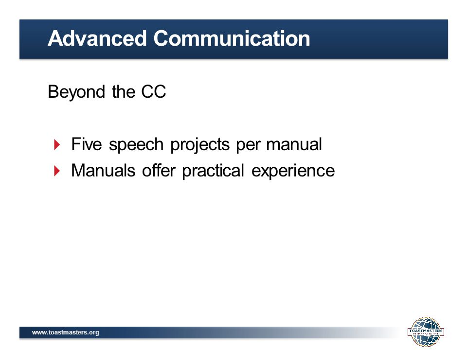 Advanced Communication