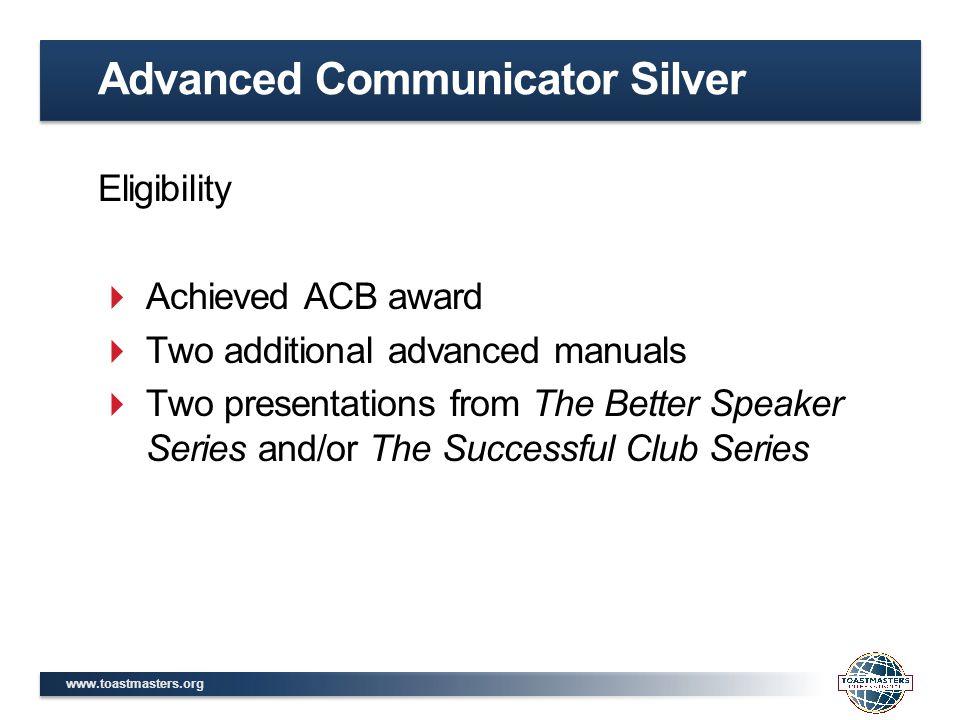Advanced Communicator Silver