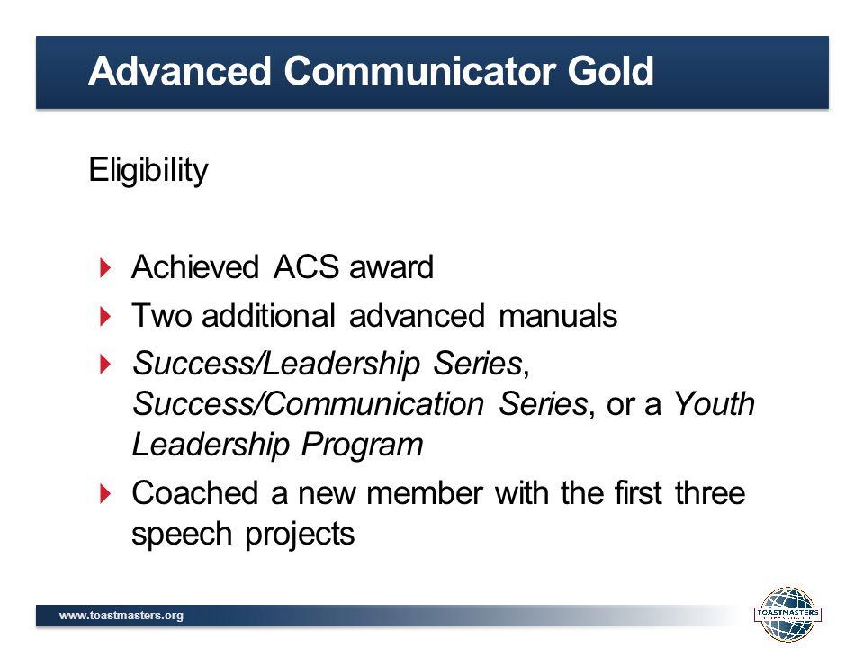 Advanced Communicator Gold