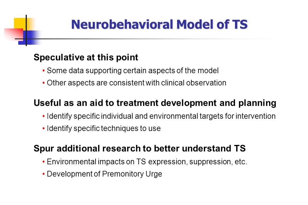 Neurobehavioral Model of TS