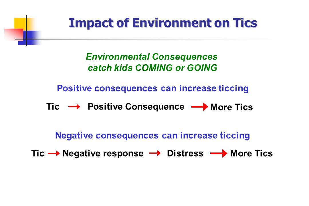 Impact of Environment on Tics