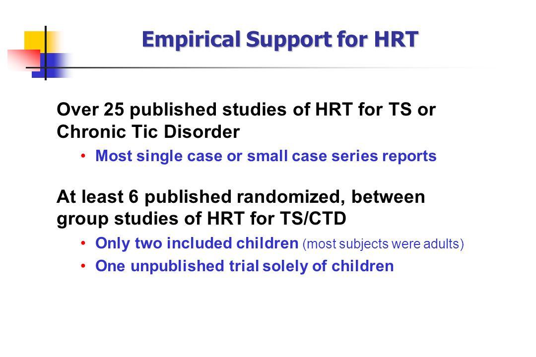 Empirical Support for HRT