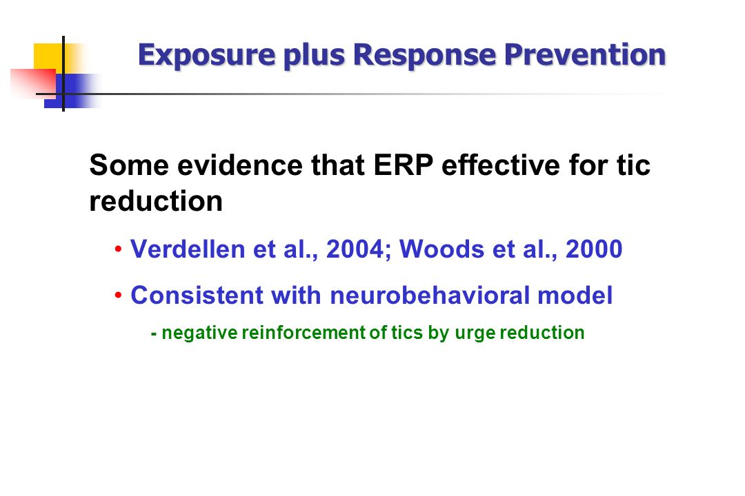 Exposure plus Response Prevention