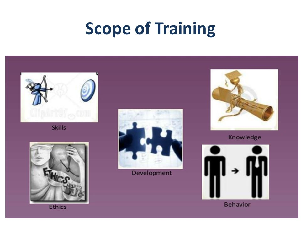 Scope of Training