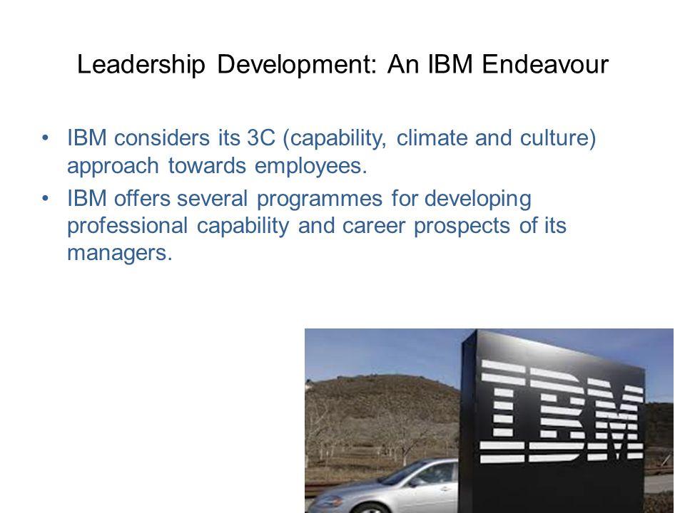 Leadership Development: An IBM Endeavour