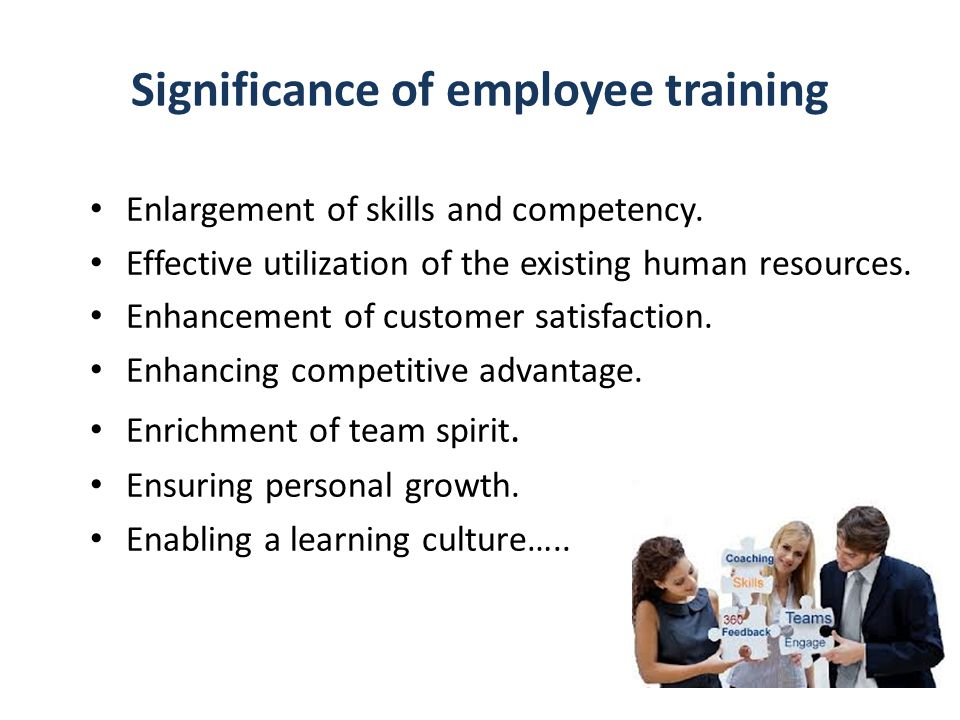 Significance of employee training