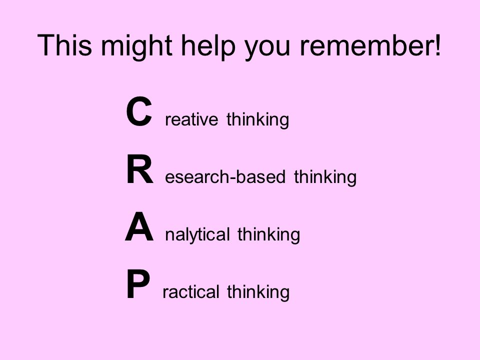 This might help you remember!