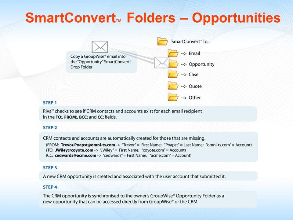 SmartConvertTM Folders – Opportunities