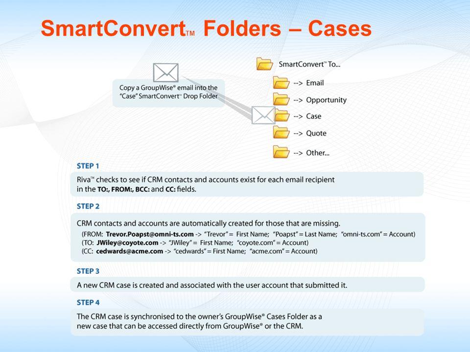 SmartConvertTM Folders – Cases