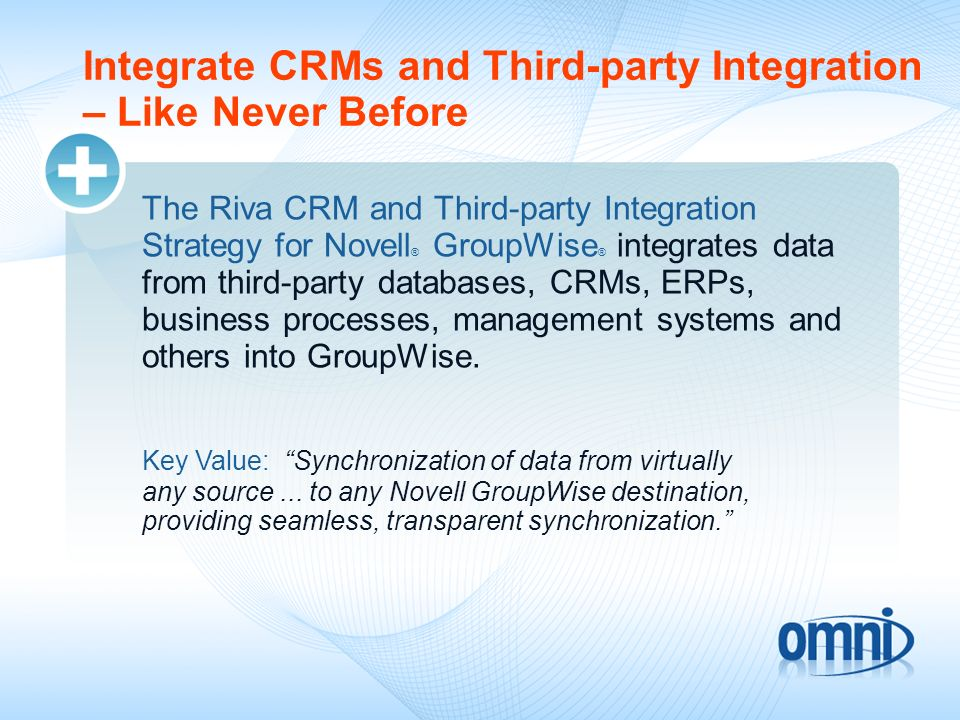 Integrate CRMs and Third-party Integration – Like Never Before