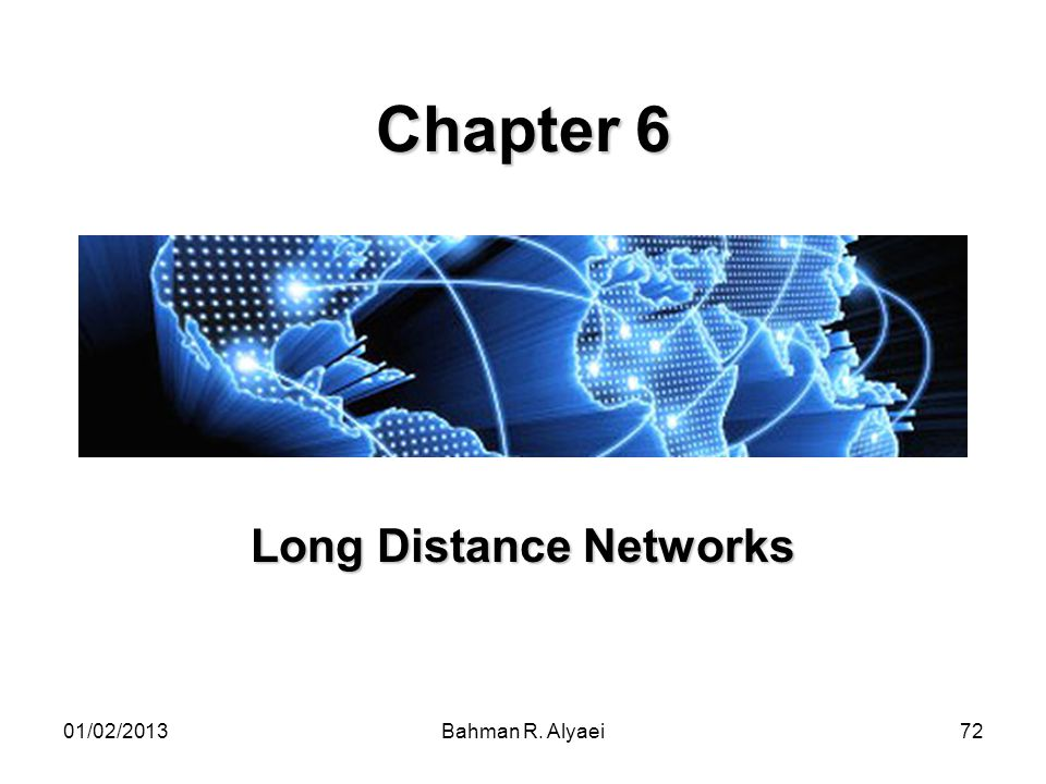 Long Distance Networks