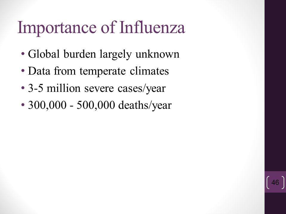 Importance of Influenza