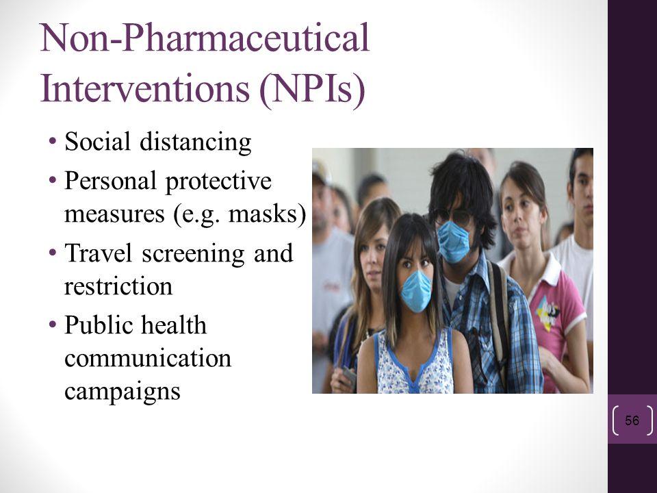Non-Pharmaceutical Interventions (NPIs)