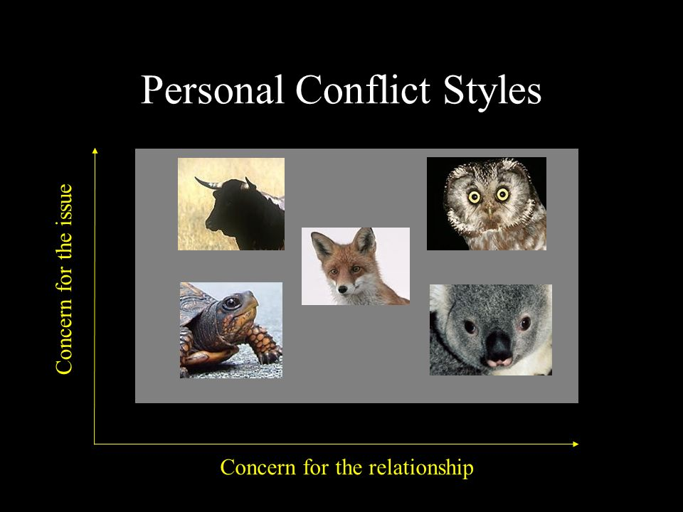 Personal Conflict Styles