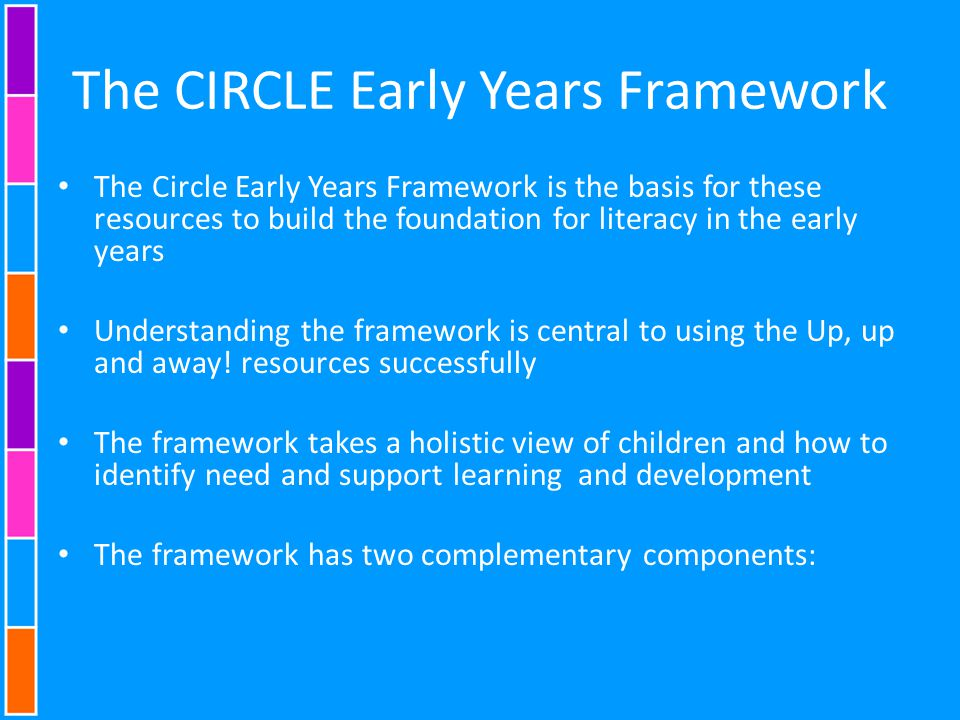 The CIRCLE Early Years Framework