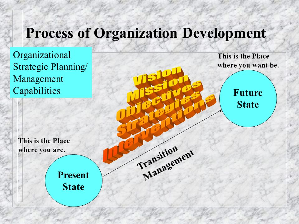 Process of Organization Development