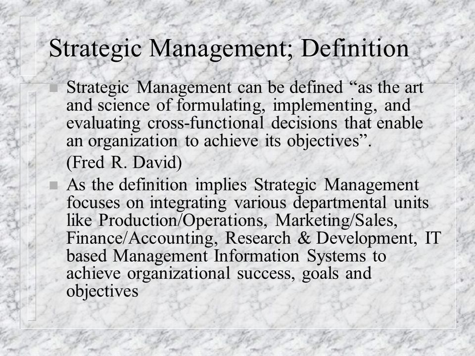 strategic management an art or science Is management science or art  benefits of strategic management essay example  - the contribution of strategic management and strategic thinking processes.