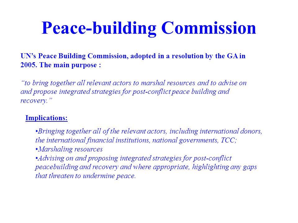 Peace-building Commission