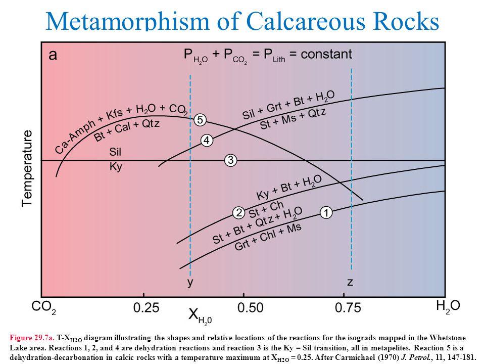 Metamorphism of Calcareous Rocks