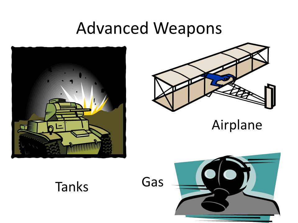 Advanced Weapons Airplane Gas Tanks