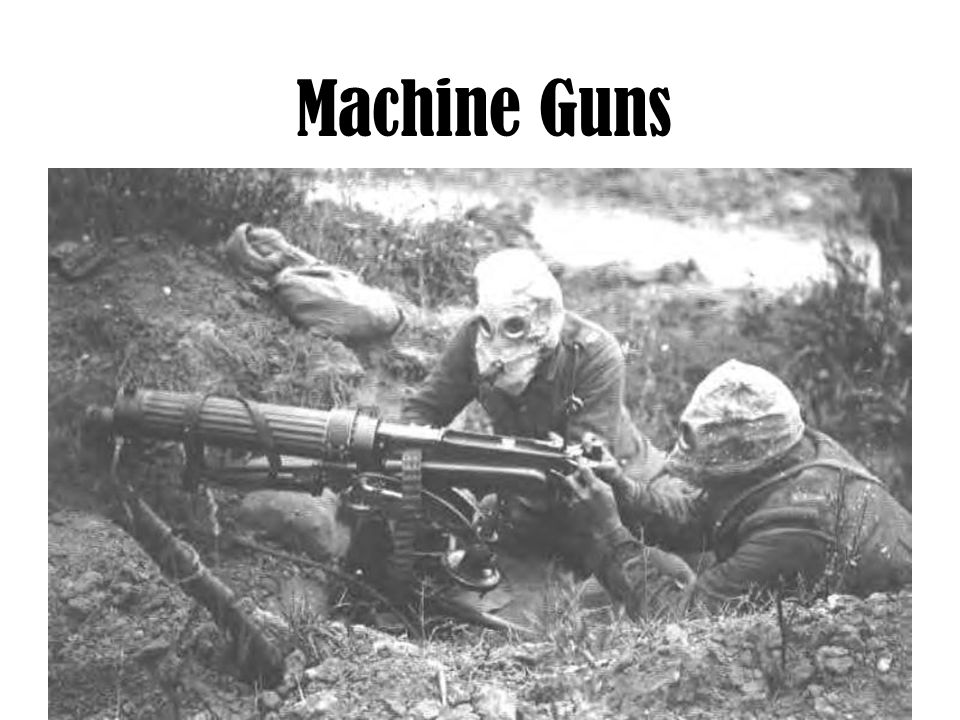 Machine Guns