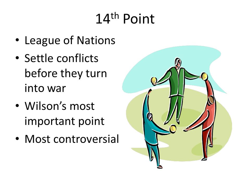 14th Point League of Nations