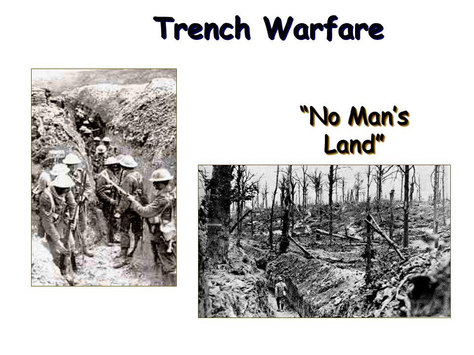 Trench Warfare No Man's Land