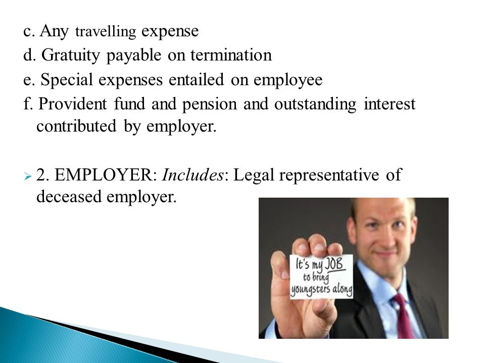 c. Any travelling expense