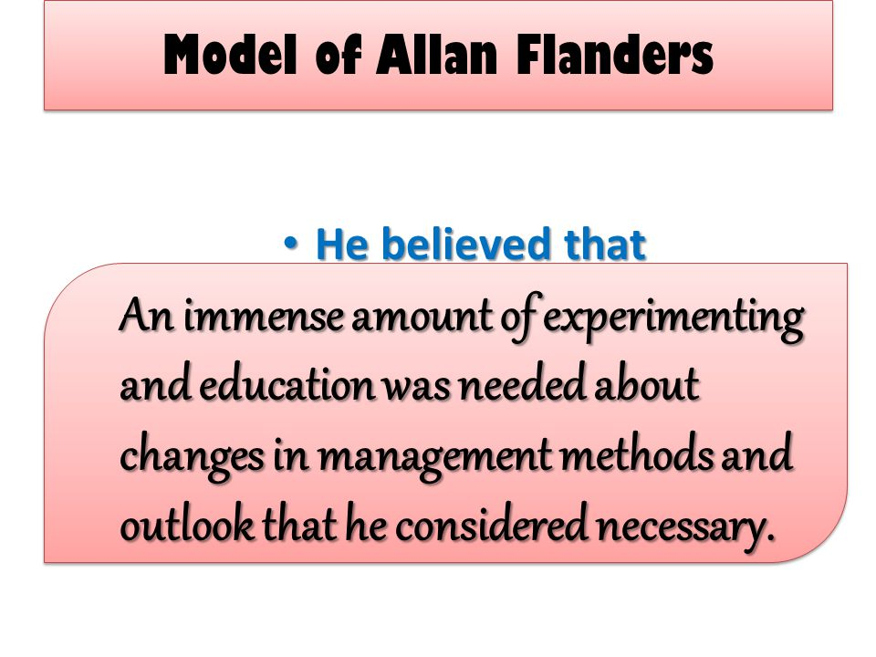 Model of Allan Flanders