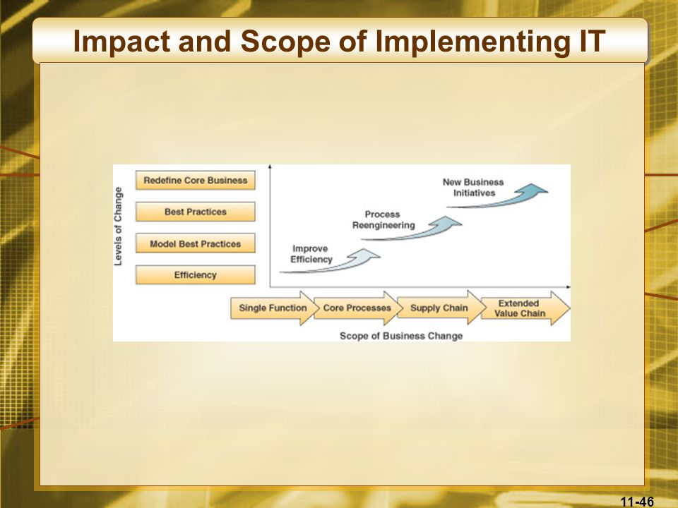 Impact and Scope of Implementing IT