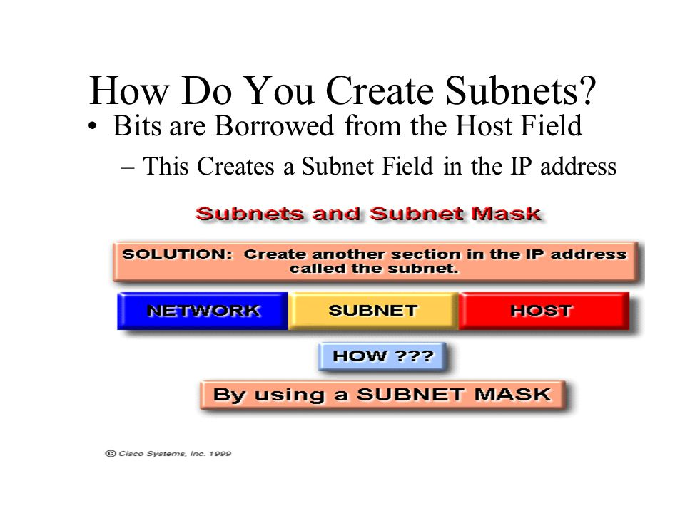 How Do You Create Subnets