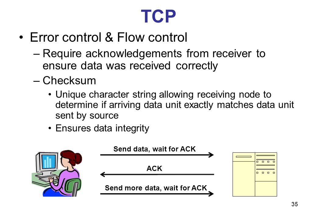 Send more data, wait for ACK