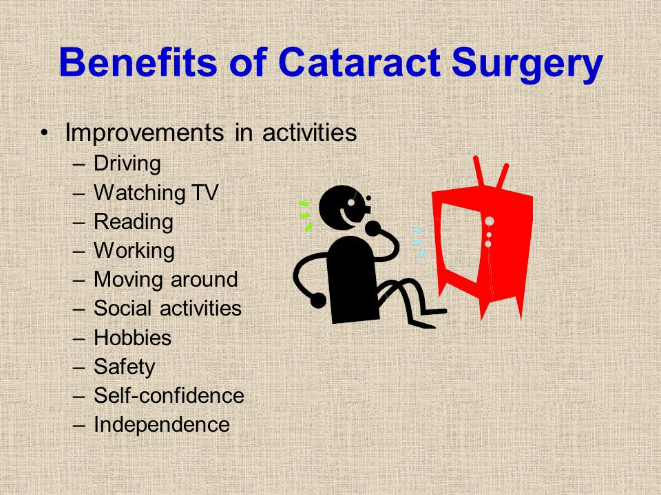 Benefits of Cataract Surgery