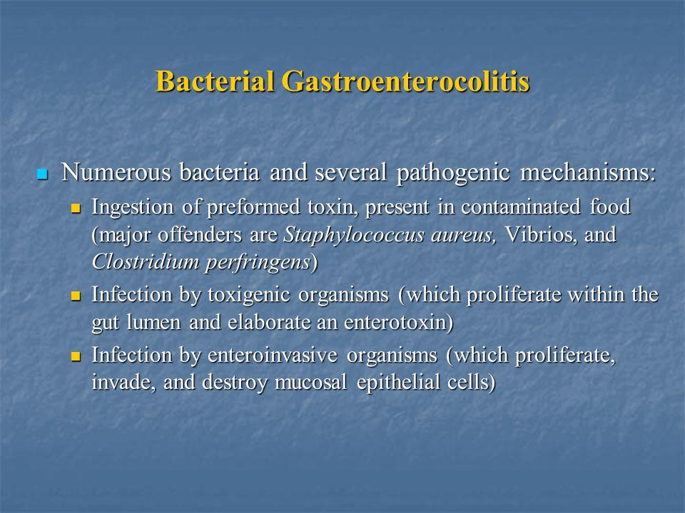 Bacterial Gastroenterocolitis