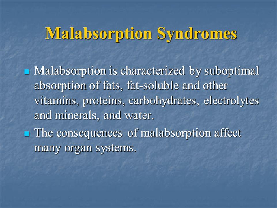 Malabsorption Syndromes