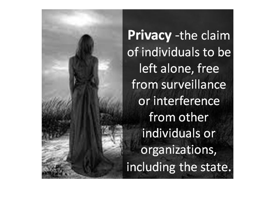 Surveillance is universally understood to change the behavior of those subjected to it.