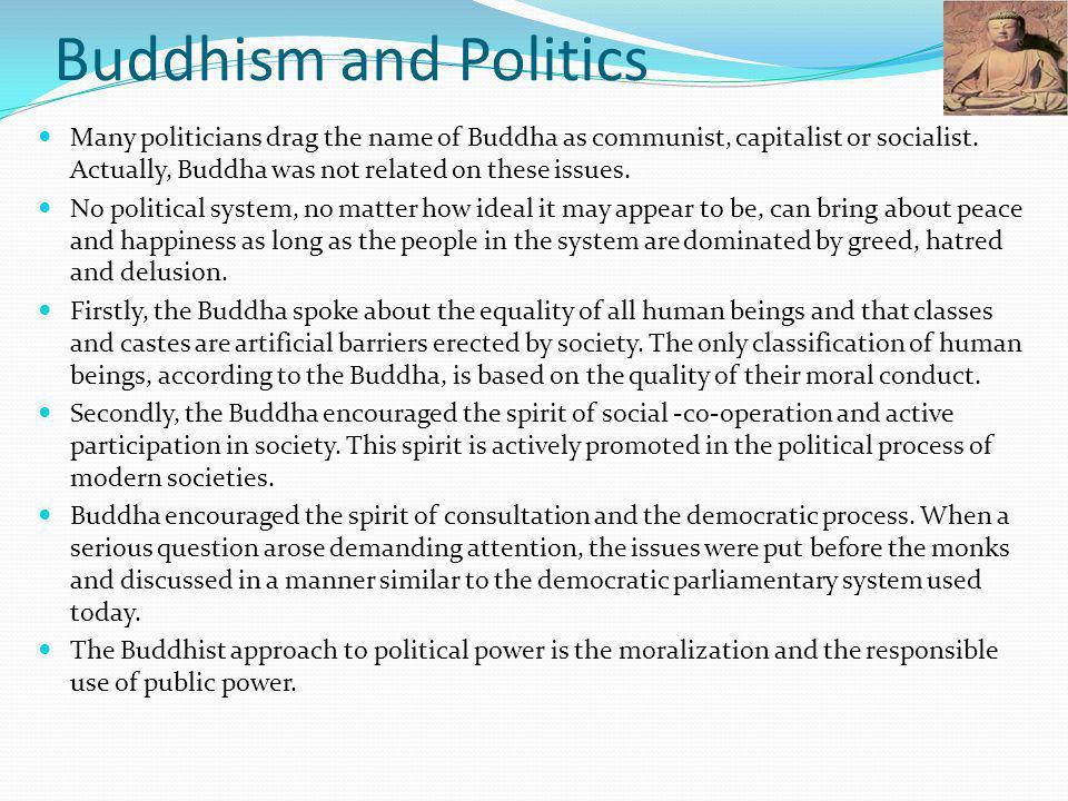 Buddhism and Politics