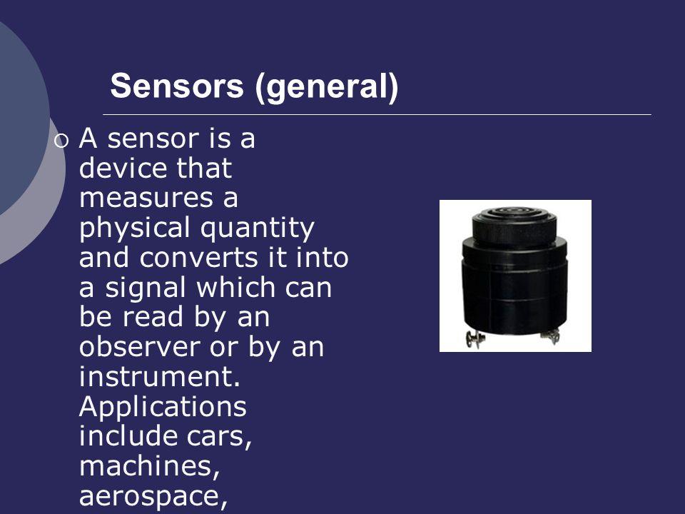 Sensors (general)