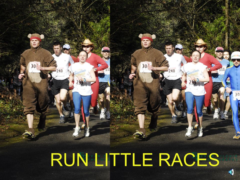 RUN LITTLE RACES