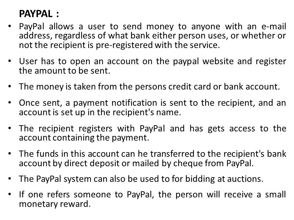 PAYPAL :