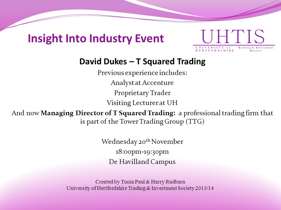 Insight Into Industry Event