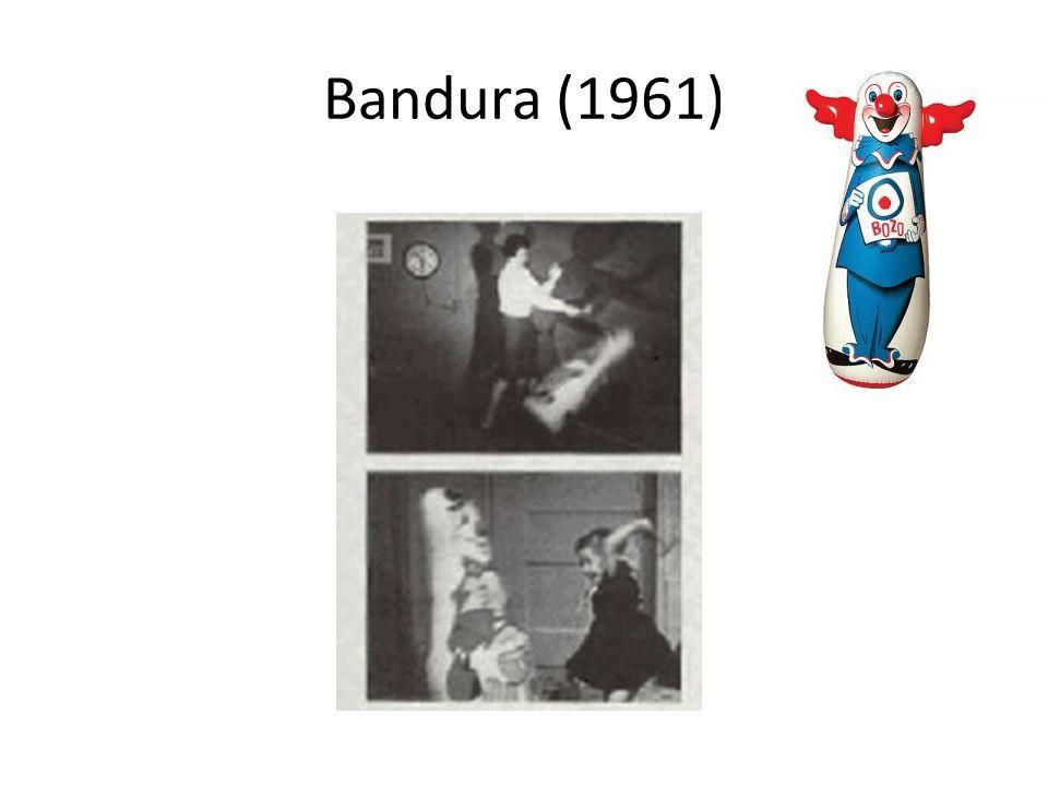 Bandura (1961)
