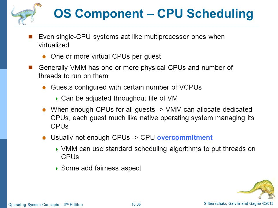 OS Component – CPU Scheduling