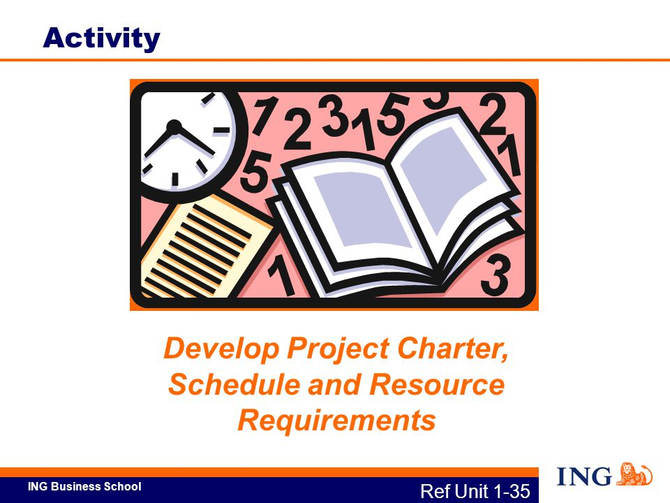 Develop Project Charter, Schedule and Resource Requirements