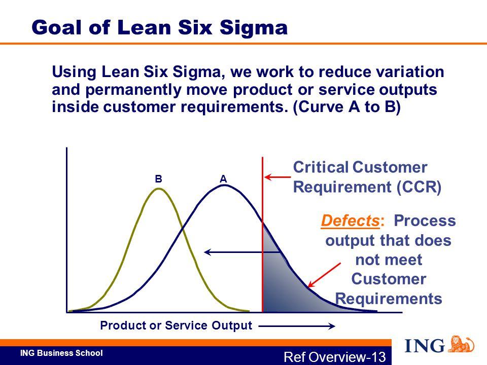 Goal of Lean Six Sigma