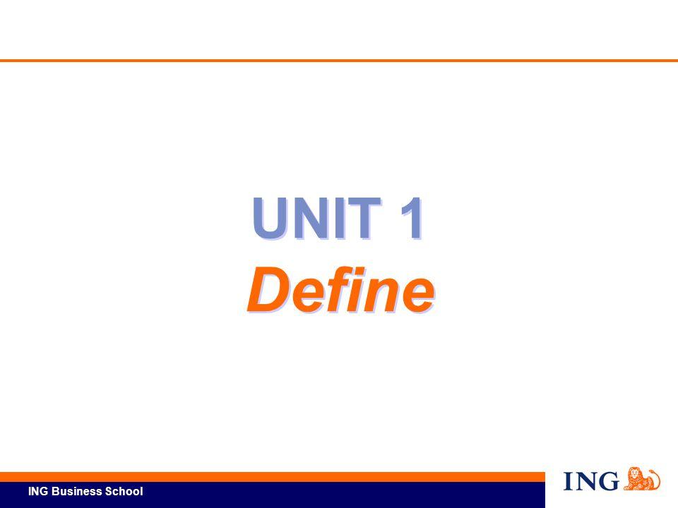 UNIT 1 Define