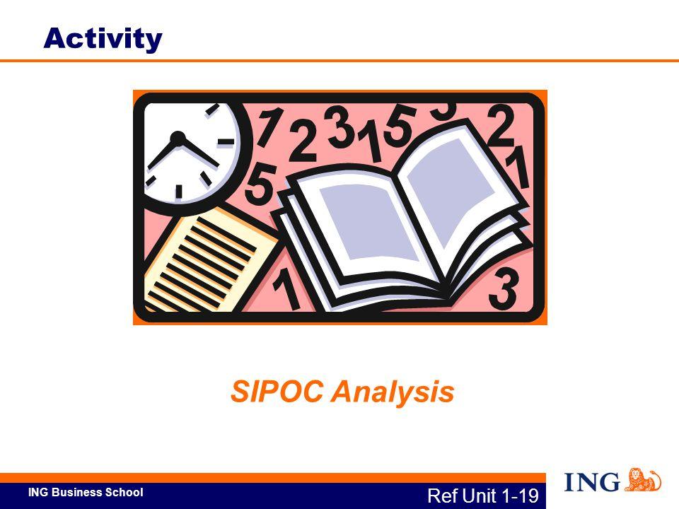 Activity SIPOC Analysis Ref Unit 1-19
