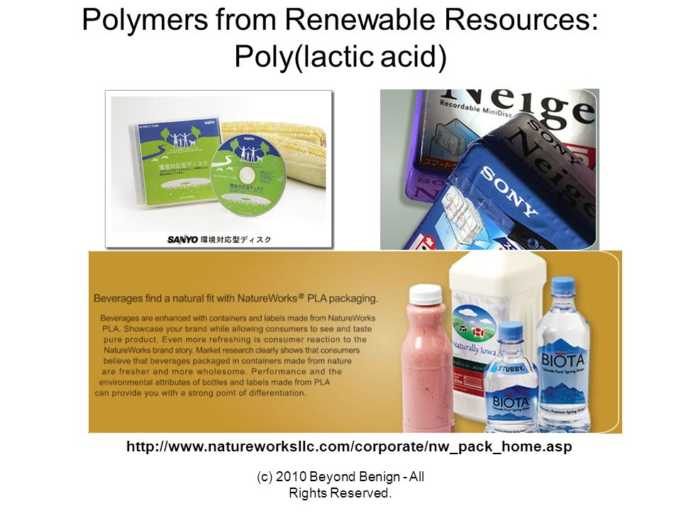 Polymers from Renewable Resources: Poly(lactic acid)
