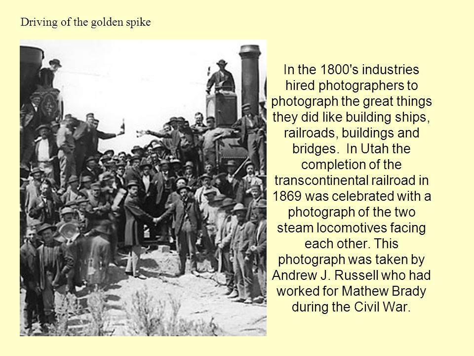 Driving of the golden spike